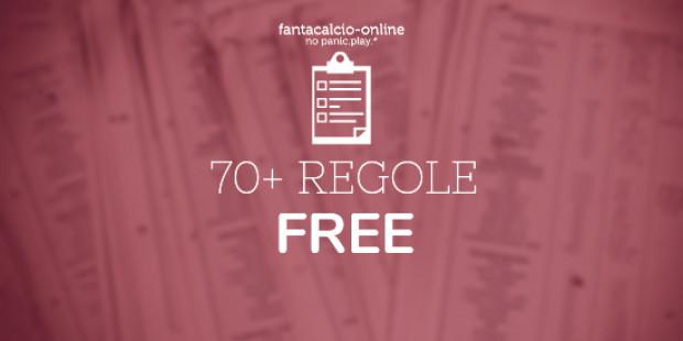 70 Regole Free Fantacalcio-Online