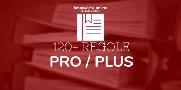 120 Regole Personalizzabili PRO / PLUS - Fantacalcio-Online