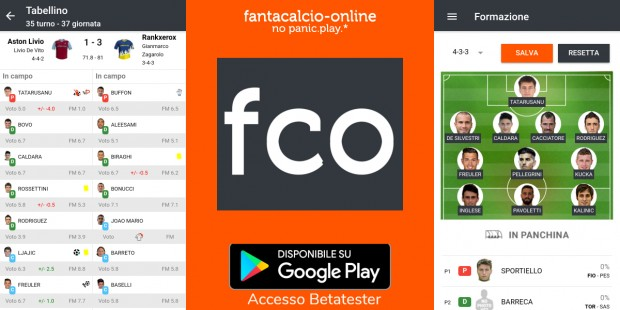 App Android Disponibile per betatester